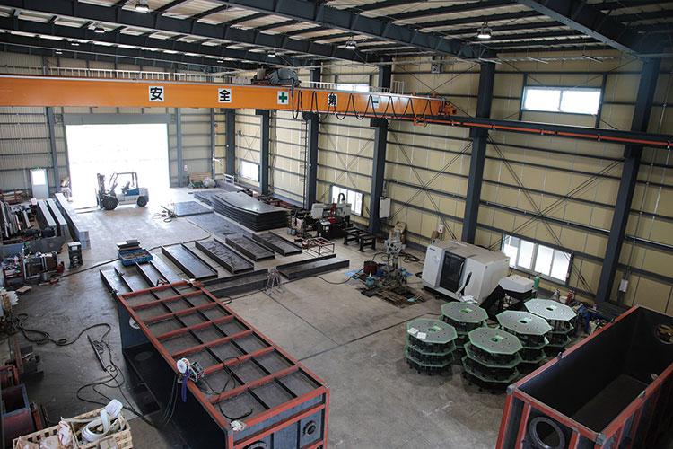 金属製品工場